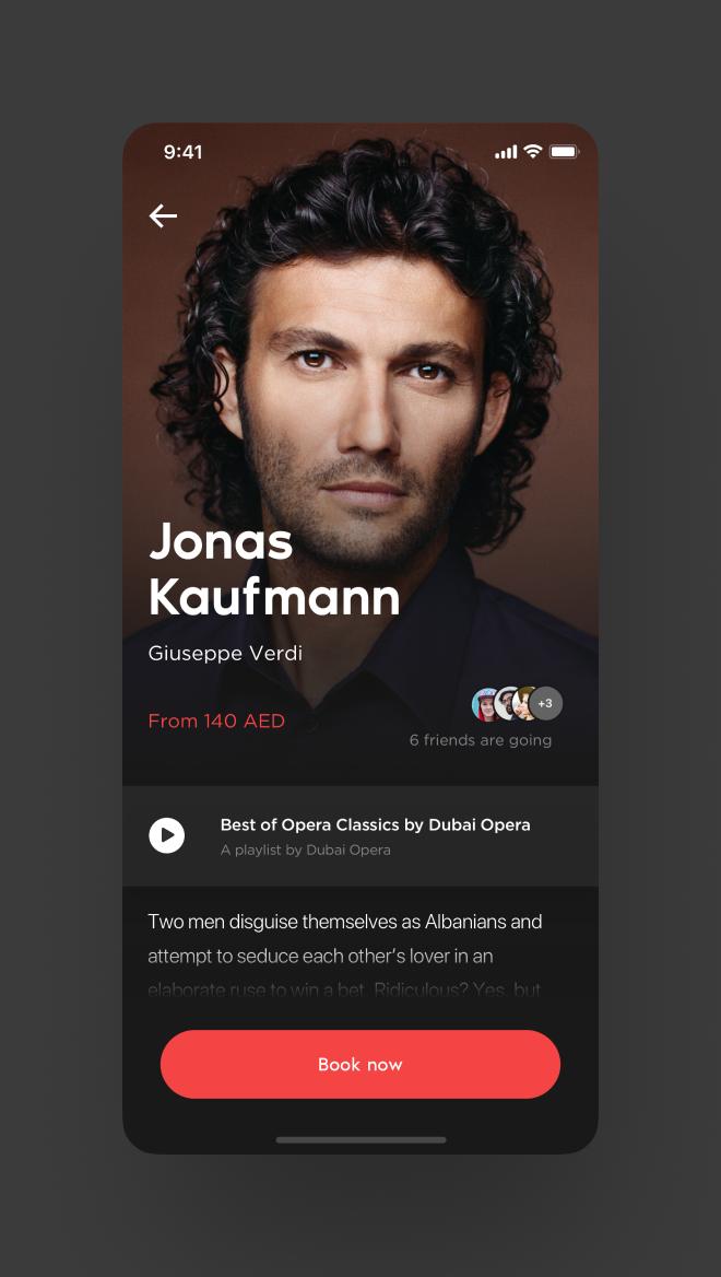 Dubai Opera iOS App